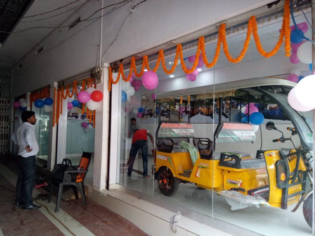 Etron E Rickshaw event